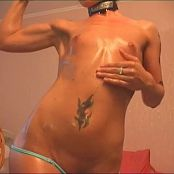Sexy Amateur Oily Body Video