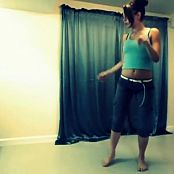 Ebony Teen Dances In Her Room Video