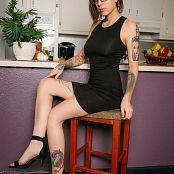 Amanda Verona Black Dress Black Thong Picture Set & HD Video
