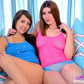 Andi Land & Amber Hahn Lesbians Picture Set 560