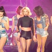 Britney Spears POM Hot Leg Spreading POM 2015 HD Video