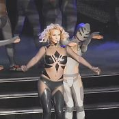 Britney Spears Black Latex Mesh Catsuit Live POM 2015 HD Video