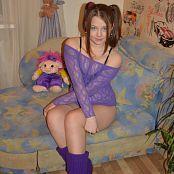 Silver Kleo Purple Lace Picture Set 1
