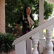 Pretty Pamela Black Leather 4K UHD Video 7