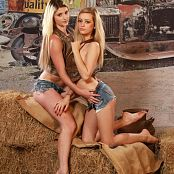 Cali Skye & Layla Down On The Farm Picture Set & HD Video