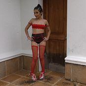 Dulce Garcia Red Stockings YFM 4K UHD Video 252