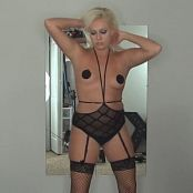 Kalee Carroll Hot Blonde With Pasties Tease Video 290