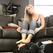 Princess Lyne Smothering Slave girl Face With My Feet Video