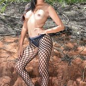 Silver Angels Marianne Fishnet Picture Set 1