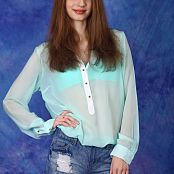 Silver Angels Marina Denim Shorts Picture Set 2