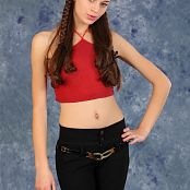 Silver Moon Nastya Red Top Picture Set 1
