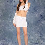 Silver Moon Nastya White Skirt Picture Set 1