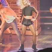 Britney Spears POM Live Black Spandex Outfit HD Video