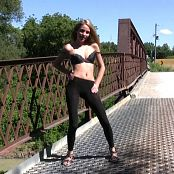 Fuckable Lola Sexy Dancing On Bridge HD Video