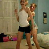 2 Cute Teen Amateurs Dancing In Their Bedroom video