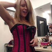Madden Corset Selfies Picture Set 4902