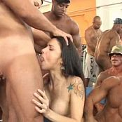 Monica Mattos Rough Anal Gangbang At The Gym Video