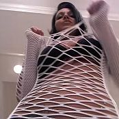 Nikki Sims Sexy POV White Fishnets Tease Camshow Cut Video