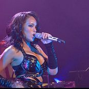 Rihanna Sexy Leather Outfit Breaking Dishes Live 2007 HD Video