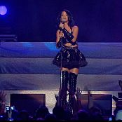 Rihanna Rehab Live In Black Latex Outfit HD Video