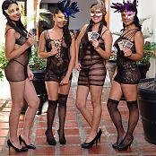 Silver Dreams Janie & Friends Blackmesh Picture Set 1 & 2