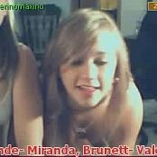 2 Sexy Young American Teens Naked Fun On Stickcam Video