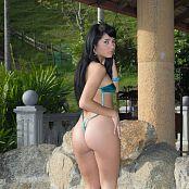 Clarina Ospina Slingshot Bikini Bonus LVL 1 TBF Picture Set 015
