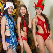 Heidy Model, Sofia Arias & Michelle Romanis Holliday Playwear Bonus LVL 1 TBF Picture Set 018