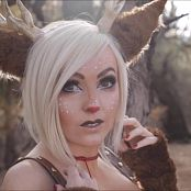 Jessica Nigri Sexy Rudolph Cosplay Patreon HD Video
