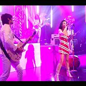 Katy Perry I Kissed a Girl Live London Polka Latex Dress HD Video