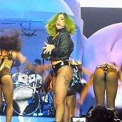 Lady Gaga Curvy Ass In Black Latex Live Show 2014 HD Video