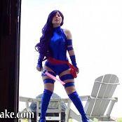 Sexy Pattycake Psylocke Cosplay BTS Video