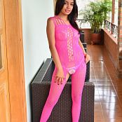 Silver Pearls Sabrina Pink Picture Set 3