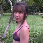 Angie Narango Lavender Bra & Thong Bonus LVL 2 TBF HD Video 027