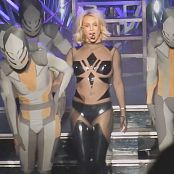 Britney Spears Work Bitch Live Sexy Skin Tight PVC Catsuit 2015 HD Video