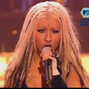 Christina Aguilera Dirrty Super Sexy Leather Chaps Live EMA 2002 Video