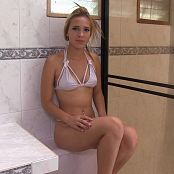 Luisa Henano White Bikini Lingerie TM4B HD Video 003