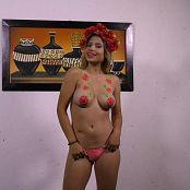 Poli Molina Glowing Bodypaint TM4B 4K UHD Video