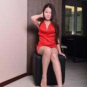 Silver Starlets Isabella Red Dress Picture Set 1