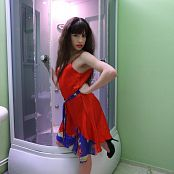 Silver Starlets Sarah Red Dress Picture Set 1