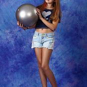 Silver Stars Alissa Denim Shorts Picture Set 1