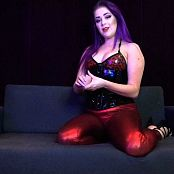 Worship LatexBarbie Queen of Hearts Advanced Intox HD Video