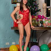 Alexa Lopera Christmas Lace Bonus LVL 1 YFM Picture Set 216