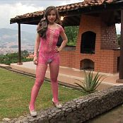 Angie Narango Body In Pink Bonus LVL 2 TBF HD Video 051