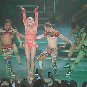 Britney Spears Stronger & Toxic POM Live 2015 HD Video