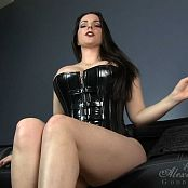 Godin Alexandra Snow Destruction Junkie Latex Corset HD Video