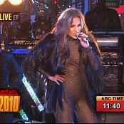 Jennifer Lopez Medley Live New Years 2010 HD Video