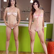 Teenikini Jewels & Desirae Slings Picture Set & HD Video