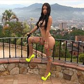 Luciana Model Tiny Bikini Bonus LVL 2 TBF HD Video 041
