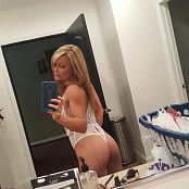 Madden White Lingerie Selfies Picture Set